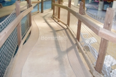 Bomanite Imprint Systems with Bomacron Textured Pattern Imprinted Concrete at Grand Rios Waterpark.