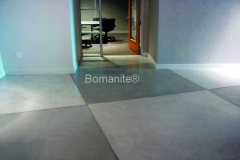 Bomanite Toppings Systems using MIcro-Top at Boka Powell Office.