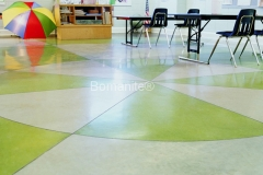 Bomanite Toppings Systems using Patene Artectura at Meadowview.